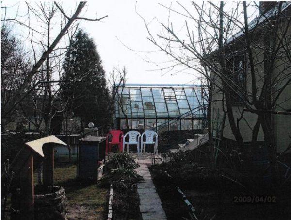 Działka w ogródkach działkowych