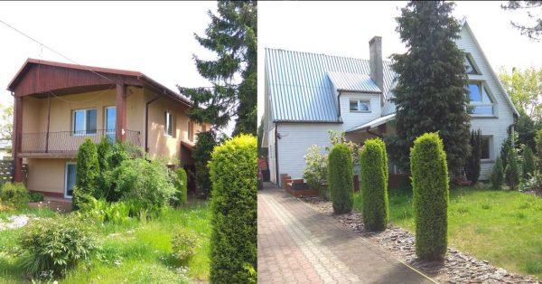 2 domy jednorodzinne Uniejów